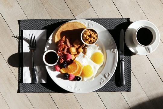 Huevos para empezar el día